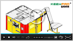 KEENPRO - Fully Automatic Linear Stretch Blow Molding Machine