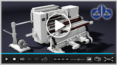 Great Features in One Solution – Auto taping and splicing High Speed Slitting Machine