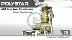 POLYSTAR - ABA Blown Film Machine Gaining Rapid Popularity among Bag Makers