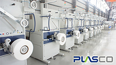 PLASCO Strapping Band Extrusion Line & Monofilament Extrusion Line