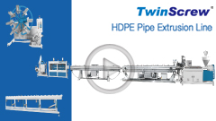 TwinScrew - The Best HDPE Pipe Extrusion Line