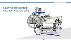 3-Layer Air Bubble Film Extrusion Line from CHICHANG