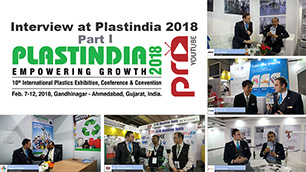 PLASTINDIA 2018 Interviews Part 1 - A Record Breaking Fair Show