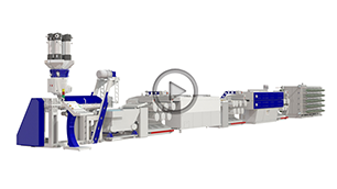 PLASCO ABA Co-Extrusion BLOWN FILM Line & MONOFILAMENT Line & STRAPPING BAND Line
