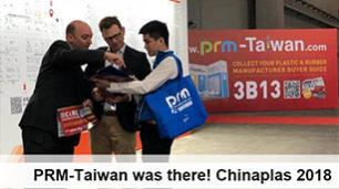 Issue 137 - PRM-Taiwan was there! Chinaplas 2018