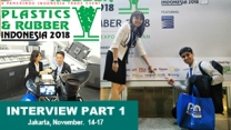 Issue 146 - Plastics & Rubber Indonesia 2018 Interview Videos Part One