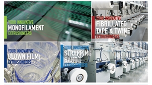 PLASCO MONOFILAMENT LINE & STRAPPING BAND LINE & ABC CO-EXTRUSION BLOWN FILM LINE