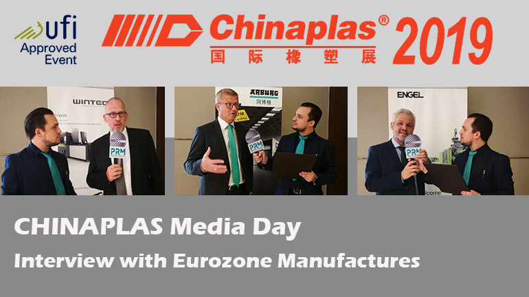 CHINAPLAS Media Day. Interview with Eurozone Manufactures