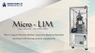 Micro-Lim That Applied to LSR & PDMS & EPOXY Without Dosing System Equipment.