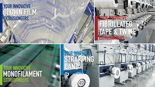 PLASCO Monofilament Line & Strapping Band Line & Raffia Tape & Twine Extrusion Line