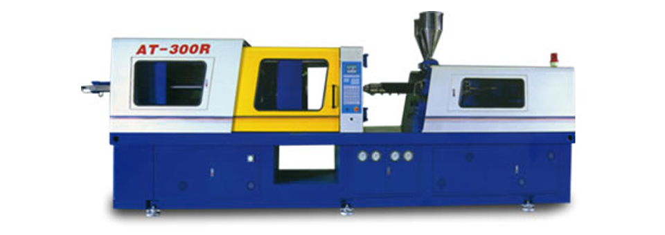 AT-300R / 2-Color Plastic Injection Molding Machine
