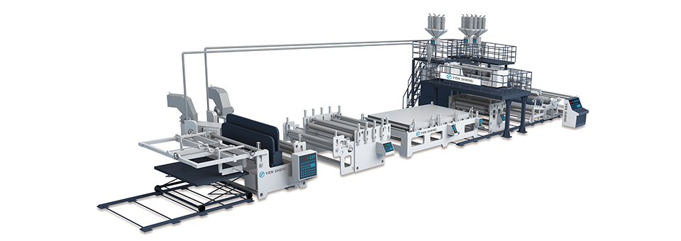 Air Bubble Hollow Board Extrusion Line(YSW-FS)