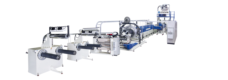 Expanded PS/PE Foam Sheet Extrusion Line