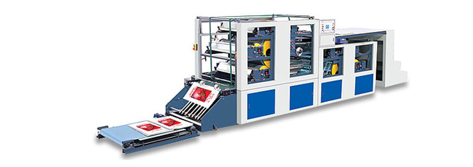 Center-Impress Style Flexo Printing Machine CS-D954