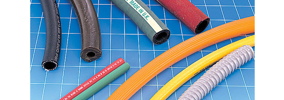 Industrial rubber tubes