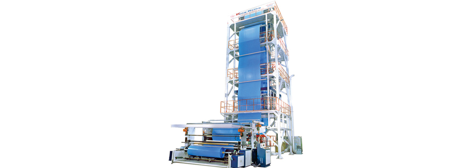 LD/LLDPE High Speed Blown Film Line Single Head Type
