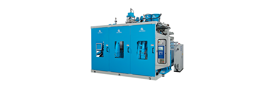 Co-Extrusion Blow Molding Machine for Multi-Layer structure bottle (Continuous type)