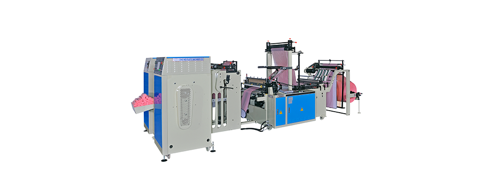 Perforating Coreless Bag On Roll + Auto Changing Device
