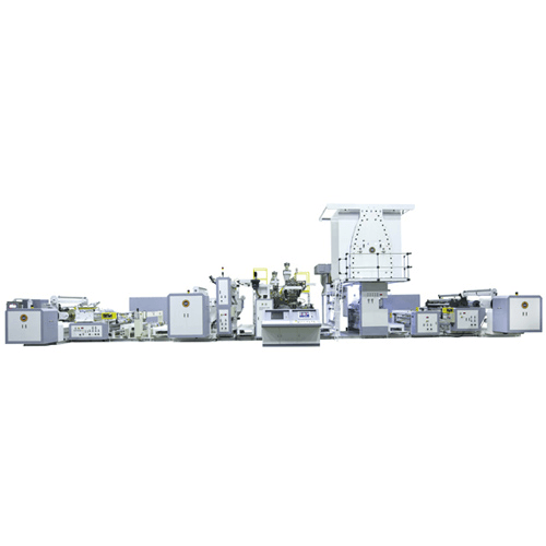 Three-Layer Co-Extrusion Lamination Machine for Flexible Packaging Film M120053