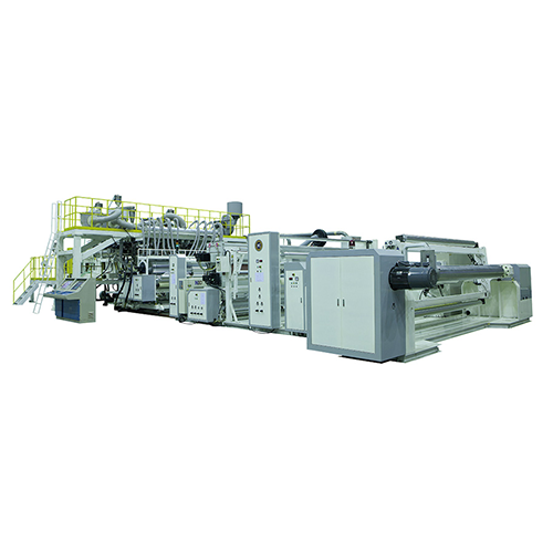 Three Layer Co-Extrusion Cast Film Line