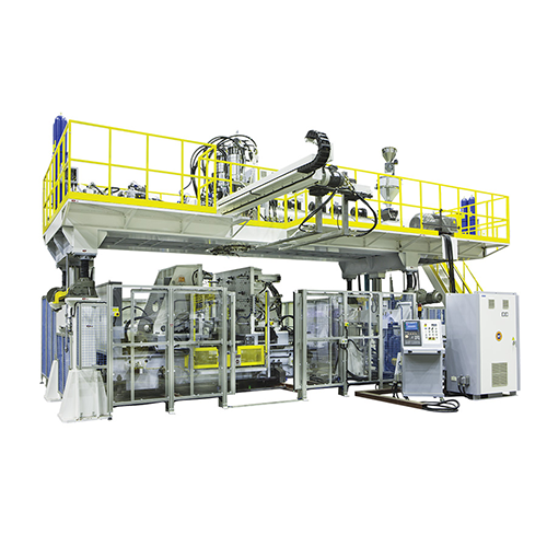 Accumulator Double Head Blow Moulding Machines