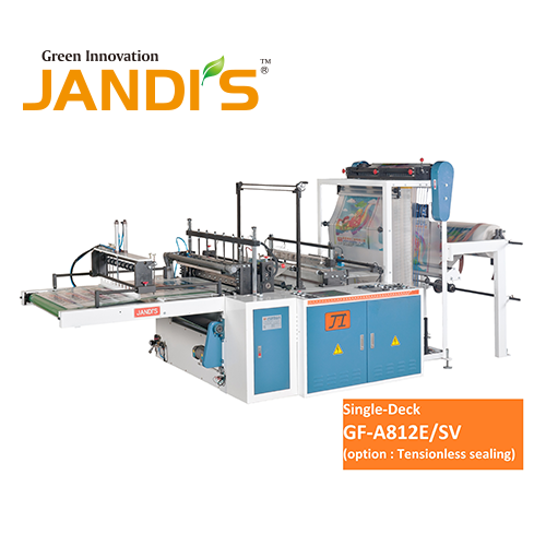 Knife-Cutting Bag Making Machine (GF-A812E-SV+C)