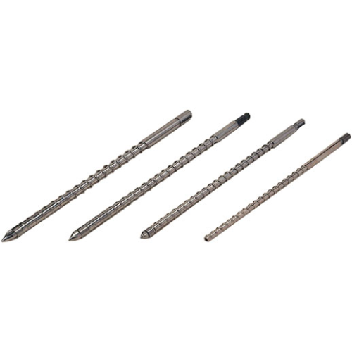 High Mixing Screws for Injection Molding Machines