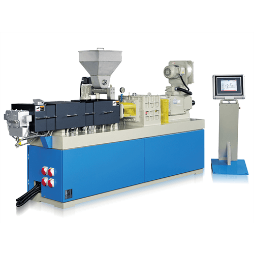 Compact Co-Rotating Twin Screw Extruder