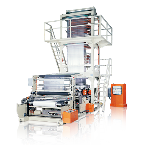 HDPE/LDPE/LLDPE HIGH SPEED PLASTIC INFLATION MACHINE KMT Series