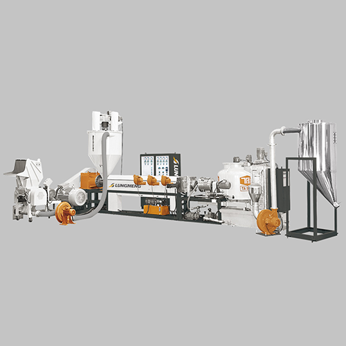 Plastic Pelletizing Machine with Crusher