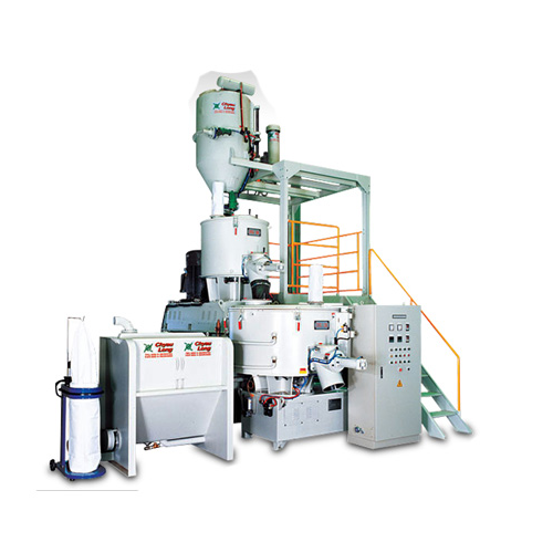 Semi-Automatic Conveying System & High Speed Mixer & Vertical Cooling Mixer
