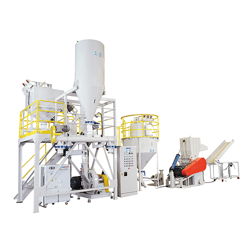 CRUSHING & PULVERIZING ENTIRE WRAP FLOW EQUIPMENT