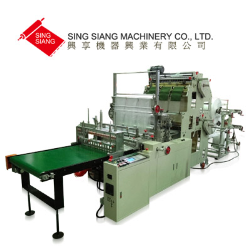 Servo Motor Driven Double Layer Six Line Bag Making Machine