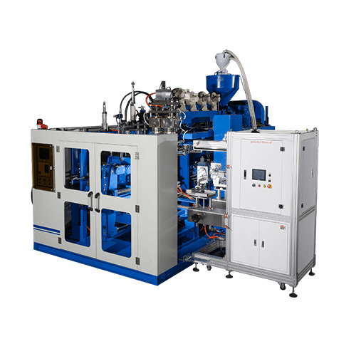 All-Electric Continuous Extrusion Type Blow Moulding Machine