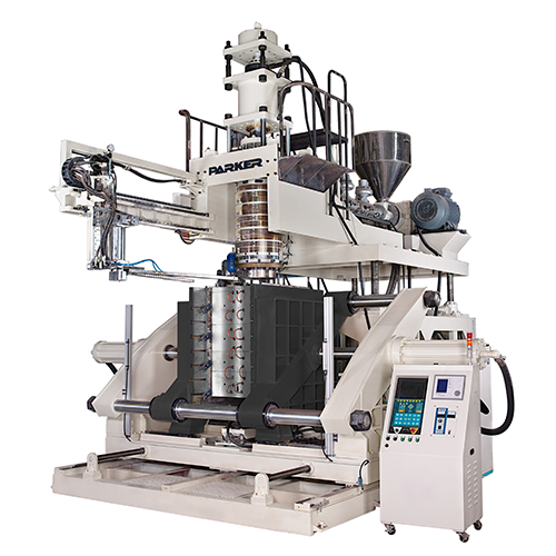 Accumulator Head Blow Molding Machine For 120/150/220 L Open Top Drum /L Ring Drum/ Automobile Parts
