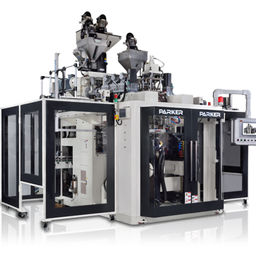 Full Electric / Hybrid 3 layer Co-Extrusion  Blow Molding Machine For 0.2/0.5/1/2/3/4/5L Bottle