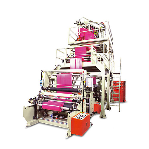 Three Layer Blown Film Extruder Plastic Inflation Machine - LCTL-E3