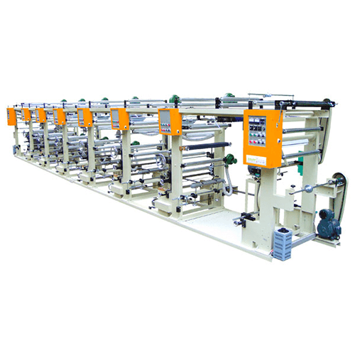 Automatic High-Speed Rotogravure Printing Machine