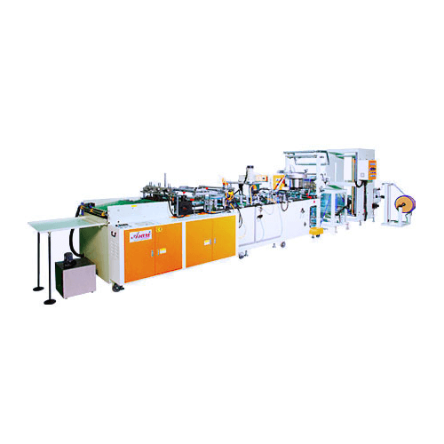 Zipper Applicator and High Speed Side Sealing Machine