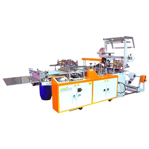 High Speed Zipper Bag Making Machine