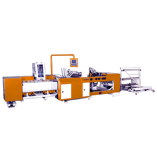 SERVO WICKET TYPE SIDE SEAL BAG MAKING MACHINE