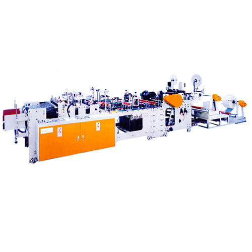 AUTOMATIC HIGH-SPEED THREE SIDE SEALING BAG MAKING MACHINE