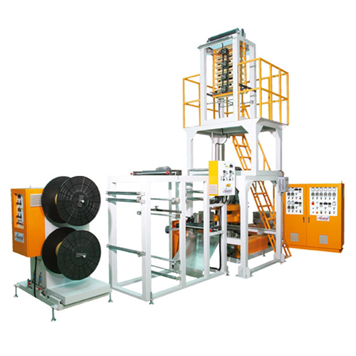 LDPE HIGH SPEED ZIPPER BLOWN FILM MACHINE(AEZ-45/55)