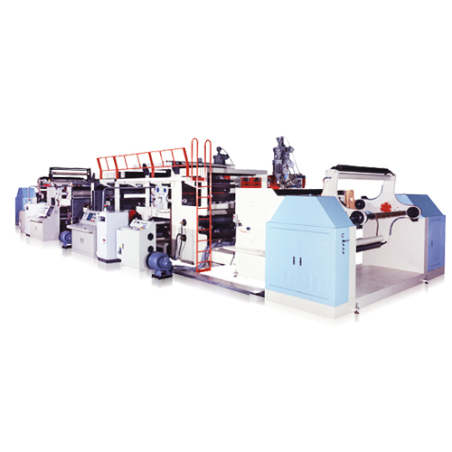 Dual-Sides Dual-Sheet Co-Extrusion Laminating Machine