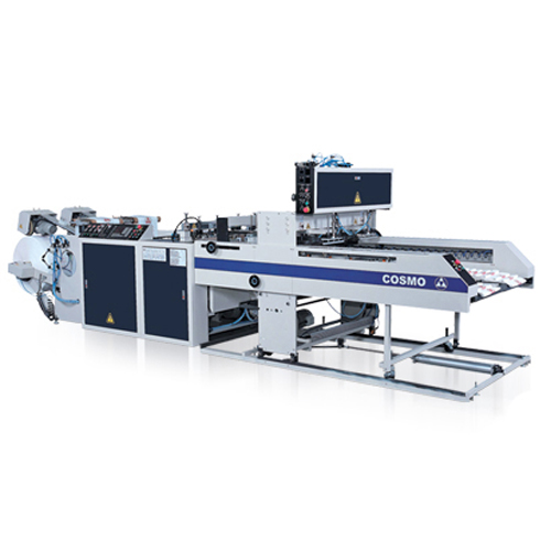 Fully Automatic High Speed 2 Lines T-Shirt Bags Making Machine / ST-88 / ST-88-500