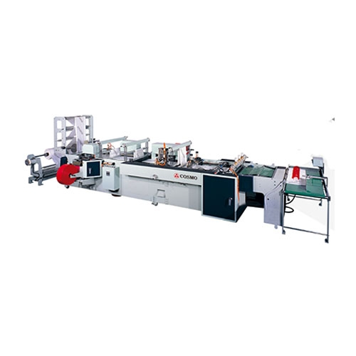 Fully Automatic High Speed Side Seal Bag Making Machine / SH-800-F4