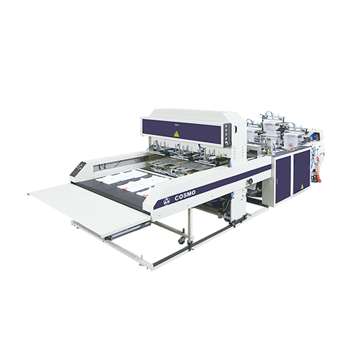 High Speed 3 Lines T-Shirt Bag Making Machine / ST-88-L3