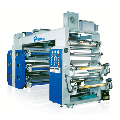 High speed stack flexographic printing machine PKF-4 SERIES / PKF-6 SERIES