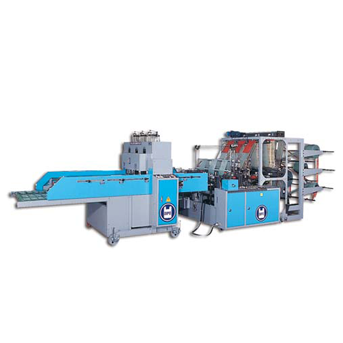 Double Layer High Speed Multi Lines/T-SHIRT Bag Making Machine-KDP-SERVO-Series