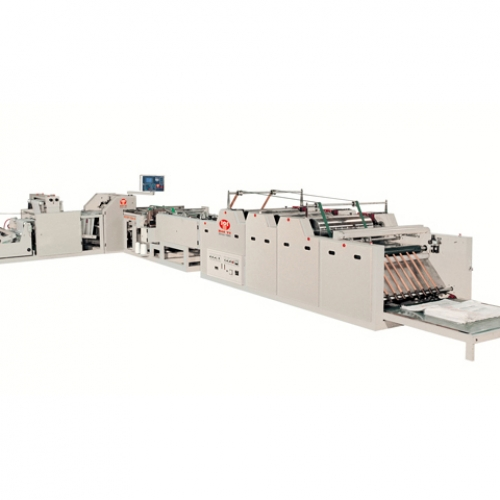 Fully Automatic Cutting Sewing Printing Machine